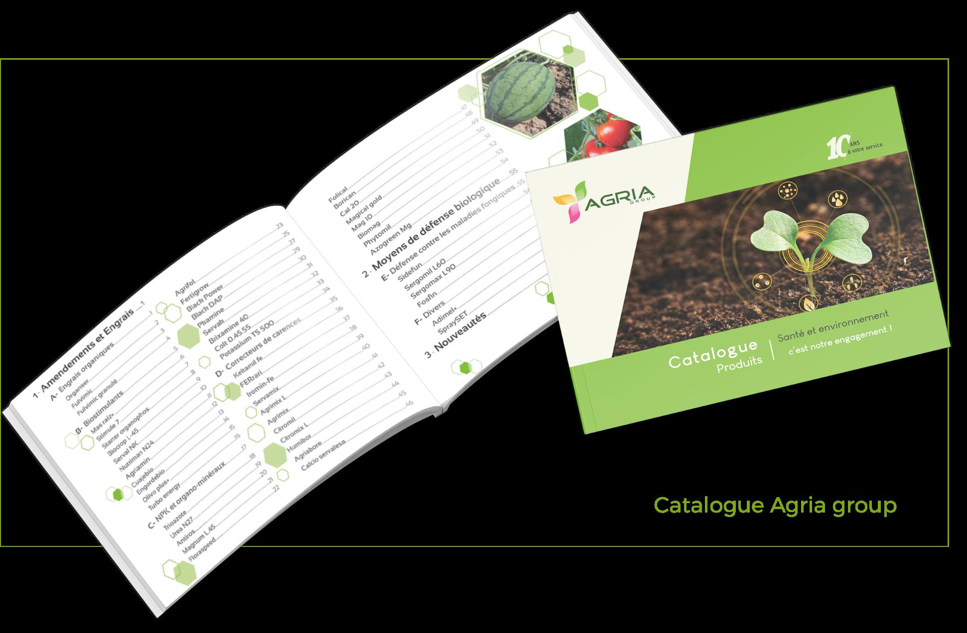 Catalogue Agria